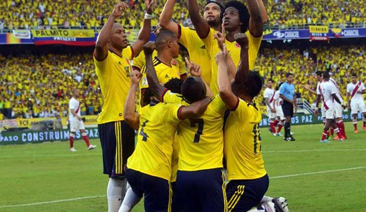 Colombia, Rusia, Fútbol,