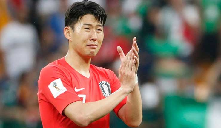 Corea del Sur, Son Heung-Min, Alemania,