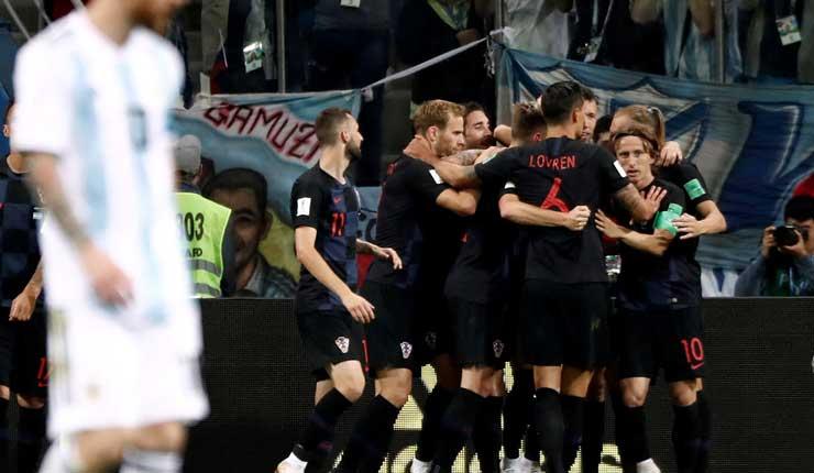 Croacia, Argentina, Fútbol, Rusia 2018,