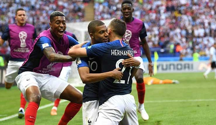 Argentina, Francia, Rusia, Fútbol,