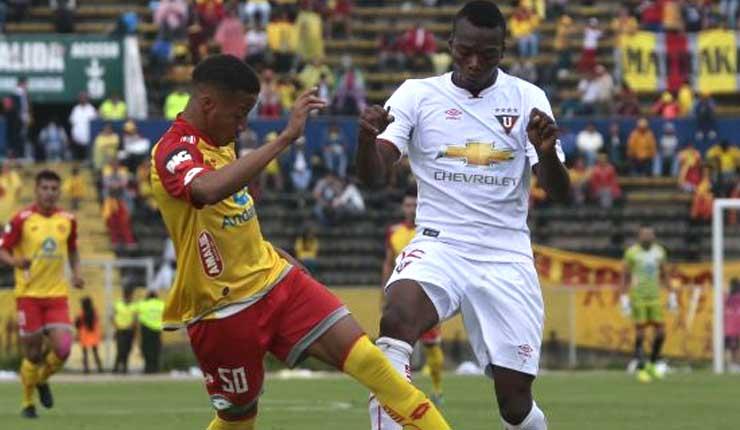 Liga de Quito, Fútbol, Aucas,