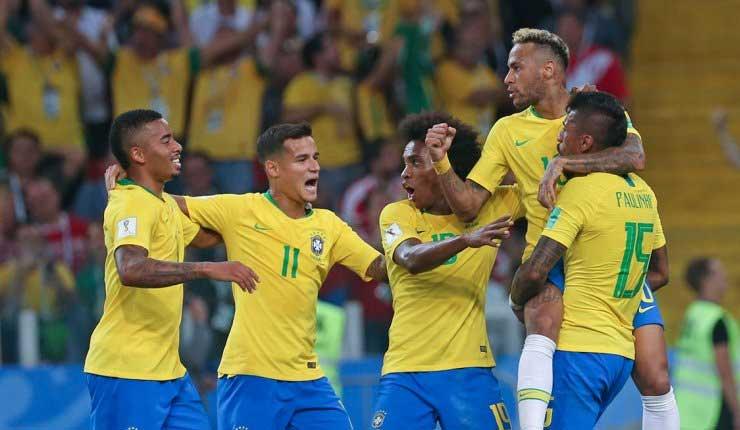 Brasil, Suecia, Rusia,