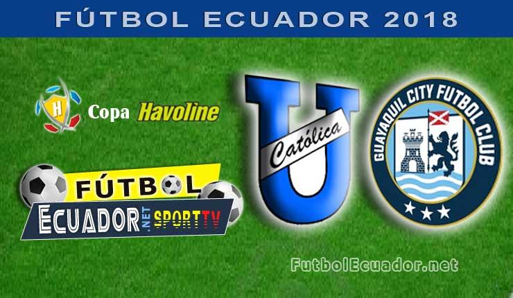 U. Católica, Fútbol, Guayaquil City, Campeonato Ecuatoriano, GOL TV,