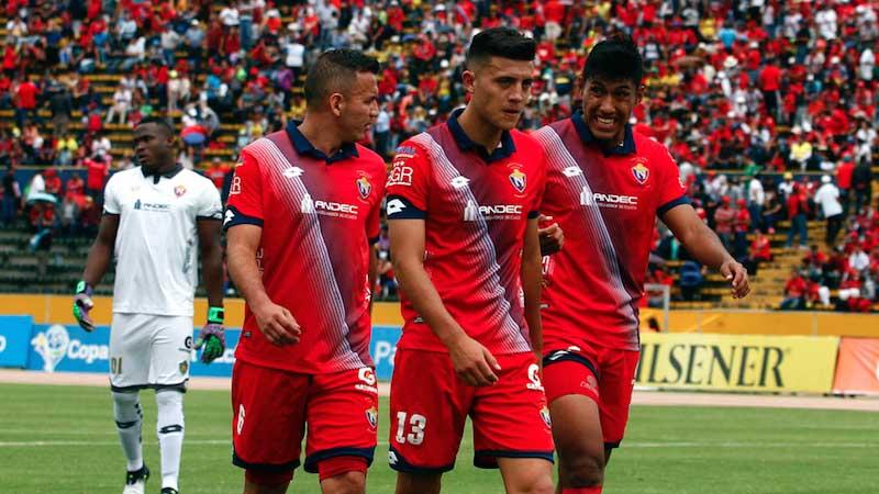El Nacional, Fútbol, Copa Sudamericana,
