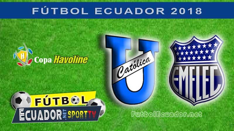 Universidad Católica, Emelec, Fútbol, Campeonato Ecuatoriano, En Vivo, GOL TV,