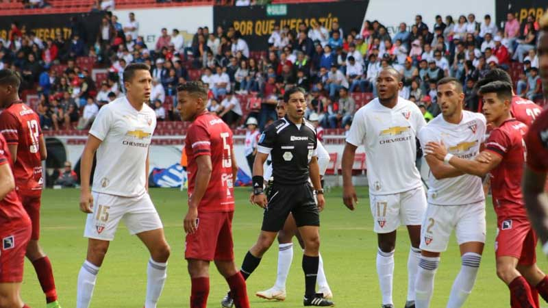 Liga de Quito, Fútbol, Técnico Universitario, Campeonato Ecuatoriano,