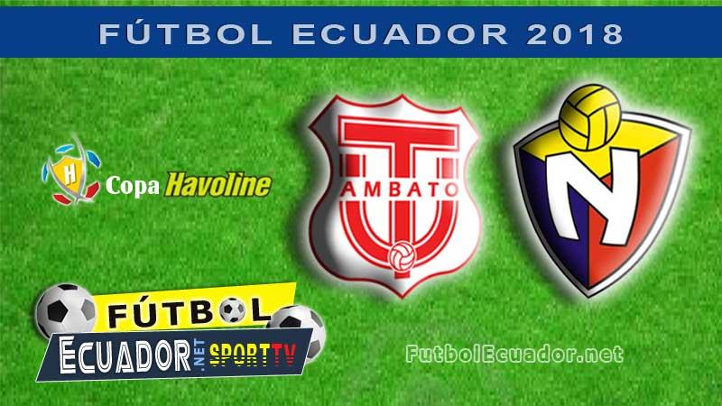 Técnico Universitario, Fútbol, El Nacional, GOL TV, En Vivo,