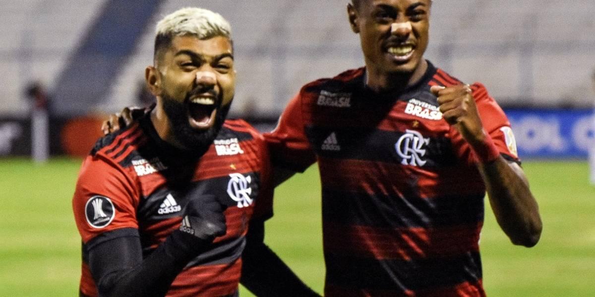 Flamengo, Liga de Quito, Fútbol, Copa Libertadores,